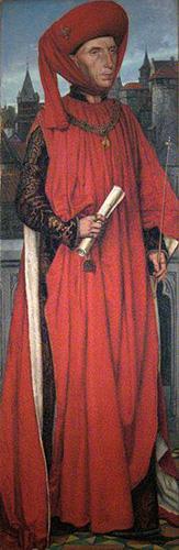Хендрик Лейс. Смерть Аттила. 1859.