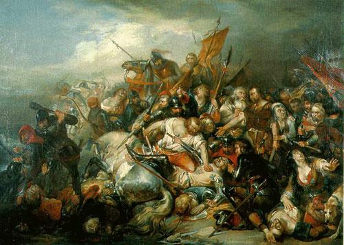 Bataille des Йperons d'Or Die Schlacht der Goldenen Sporen