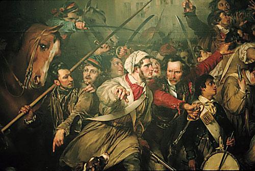 Эпизод в период бельгийской революции 1830