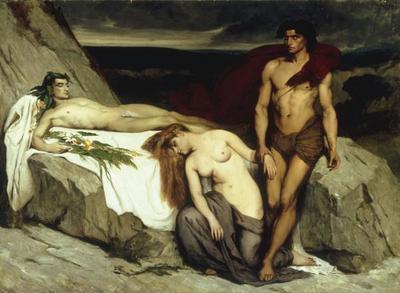 Альма-Тадема. Смерть Аттила. 1859.