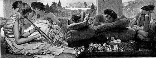 Альма-Тадема. Сиеста. 1873.