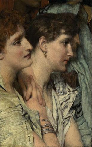 Альма-Тадема. На аудиенции. 1881.