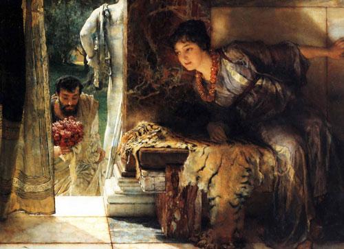 Альма-Тадема. Добро пожаловать, идущий. 1883.