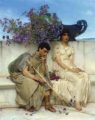 Альма-Тадема. Красноречивое молчание. 1890.
