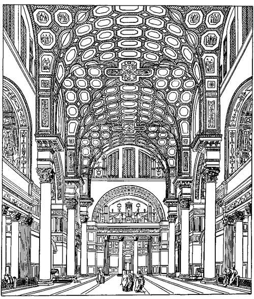 Термы Каракаллы в Риме. Реконструкция.