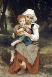 Breton Brother and Sister. 1871. Oil on canvas. (89 x 129 cm). Metropolitan Museum of Art (Manhattan, New York, United States)