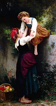Little Thieves. 1872. Oil on canvas. (109 x 200.5 cm). Private collection