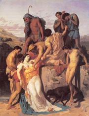 Zenobia retrouvee par les bergers sur les bords de l'Araxe