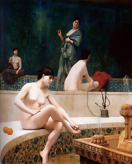 Жан-Леон Жером. An exedra. 1869.