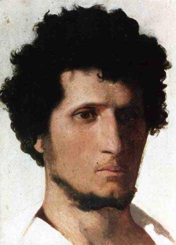 Жан-Леон Жером. Голова крестьянина от Roman Campagne.