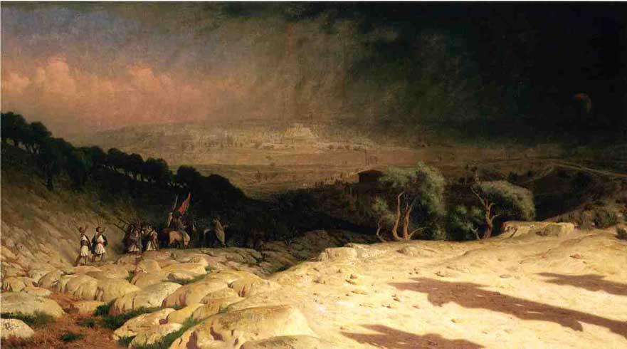 Жан-Леон Жером. Свершилось или Consumjmatum est. Jerusalem.