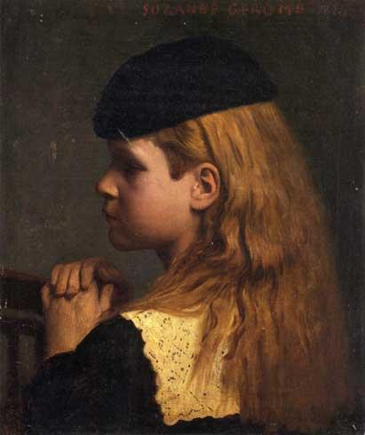Жан-Леон Жером. Портрет Девочки.