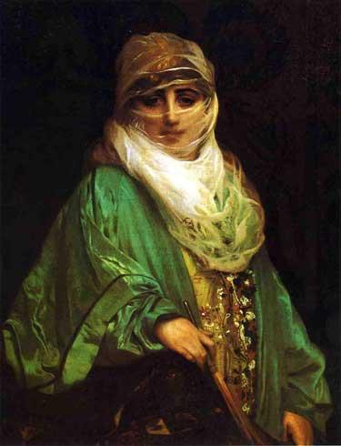 Жан-Леон Жером. Женщина Константинополя.