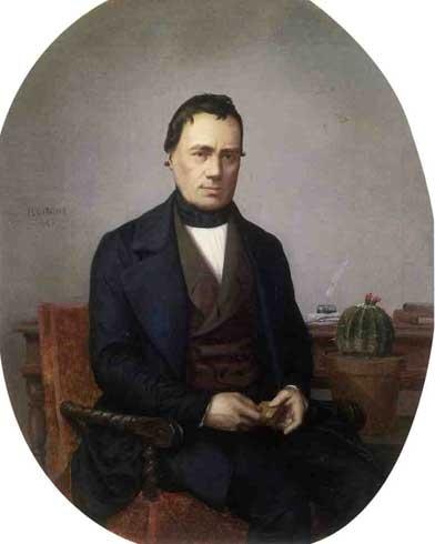 Жан-Леон Жером. Портрет джентльмена, коллекционера кактусов.