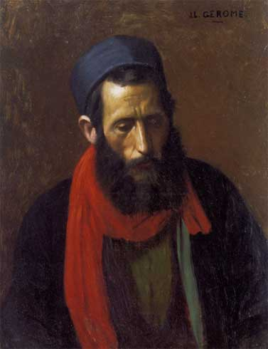 Жан-Леон Жером. Портрет еврея.