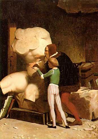 Жан-Леон Жером. Микеланджело.