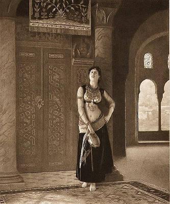 Жан-Леон Жером. Танцовщица с тамбурином.