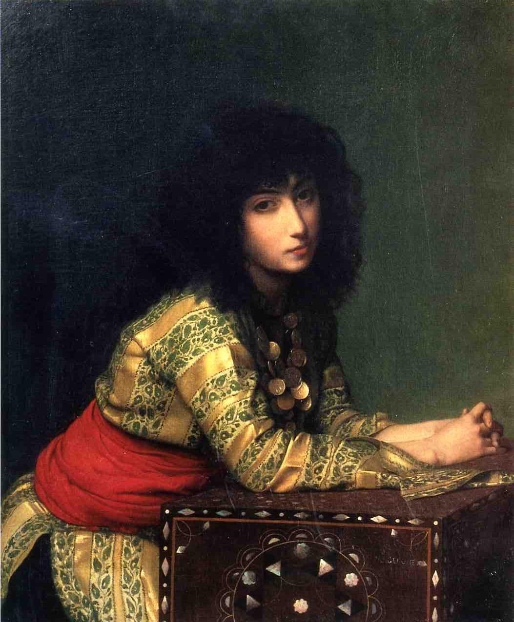 Жан-Леон Жером. Египетская девочка.