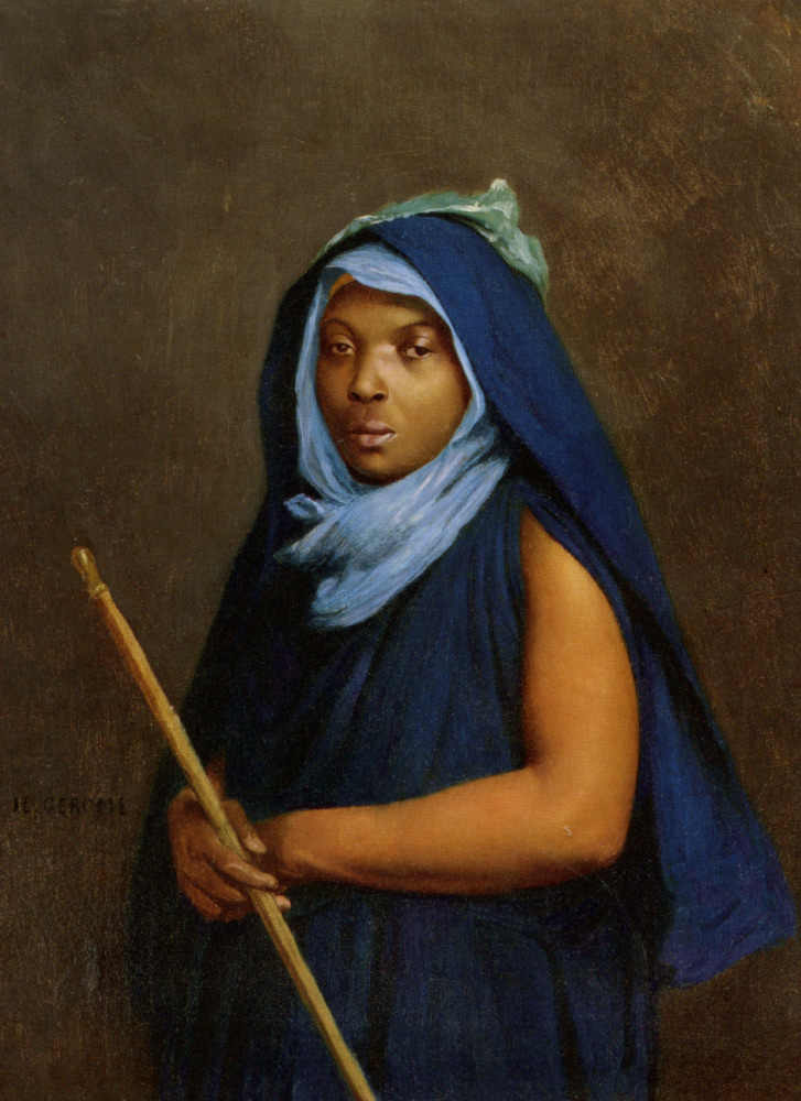 Жан-Леон Жером. Мароканская девушка.