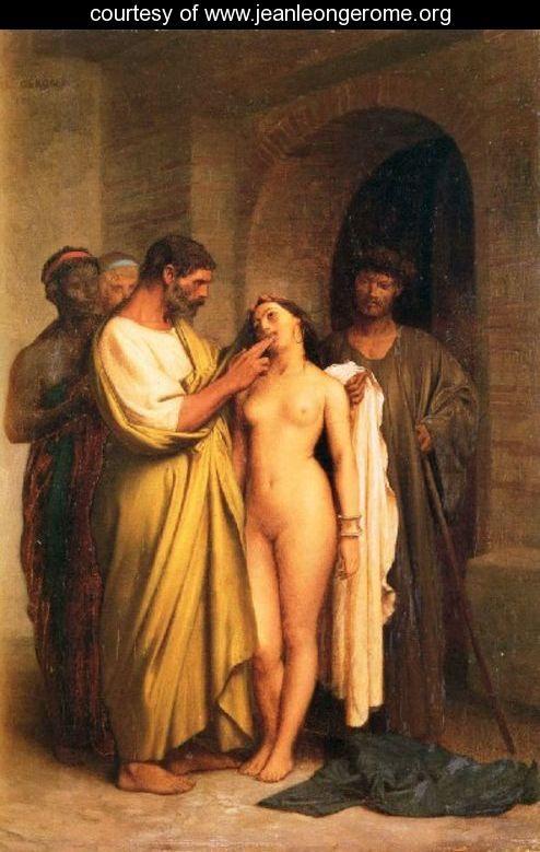 Жан-Леон Жером. Покупка рабыни.