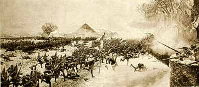 Атака войск Фридриха Великого