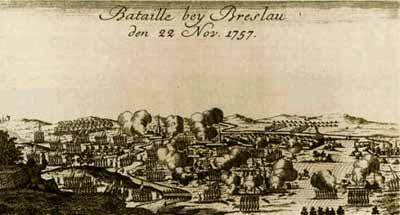 Битва под Бреславлем в 1757 году