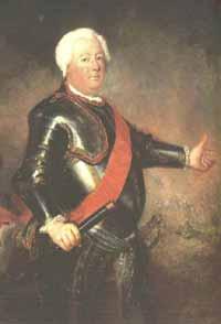 Фридрих Вильгельм I - прусский король, отец Фридриха
