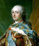 Людовик XV - французский король, сначала союзник, потом противник Фридриха