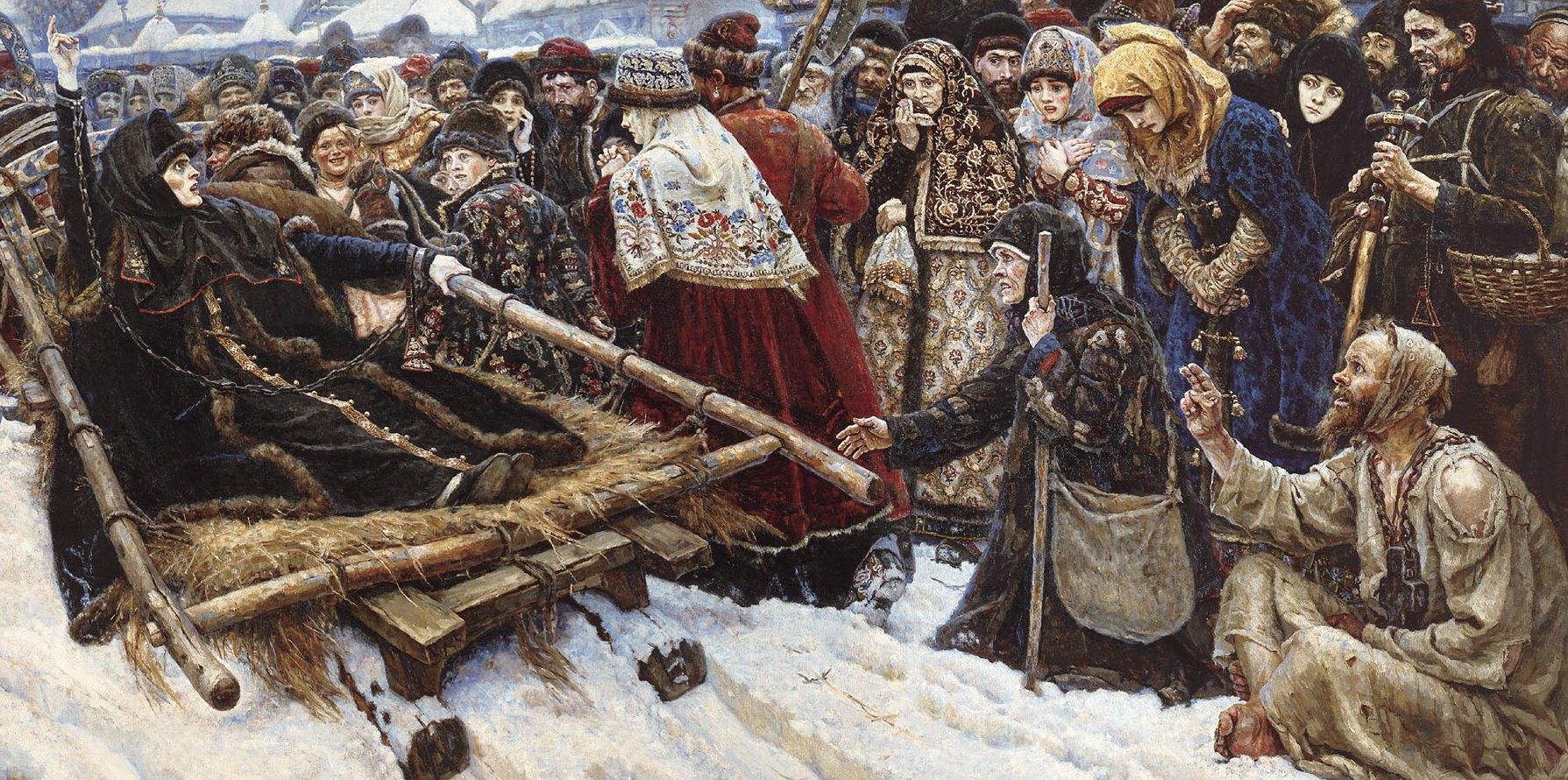 "Василий Иванович Суриков. ""Боярыня ...: gallery-allart.do.am/publ/interesnoe/istoriya_kartin/vasilij..."