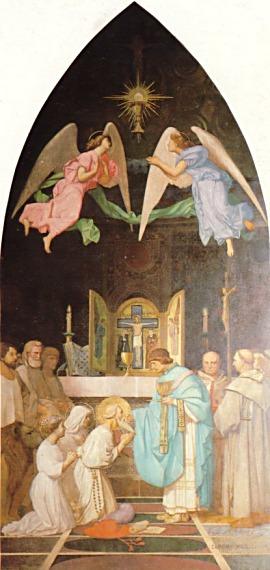 Жан-Леон Жером. Последнее причащение Святого Иеронима.