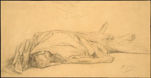 Жан-Леон Жером. Смерть Цезаря.