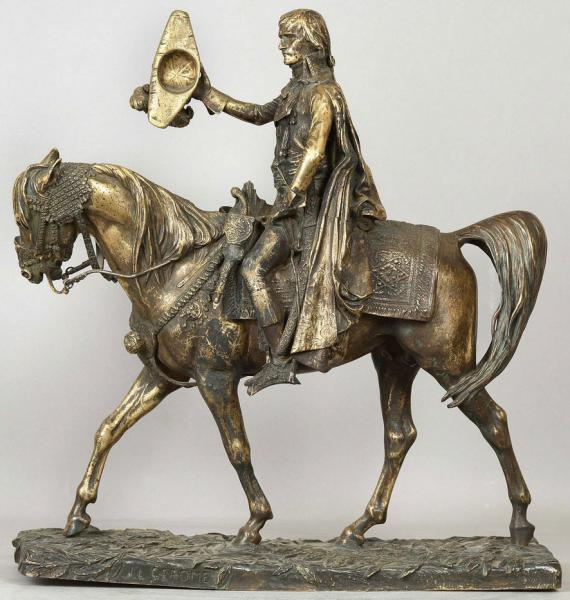 Жан-Леон Жером. Бонапарт, въезжающий в Каир.